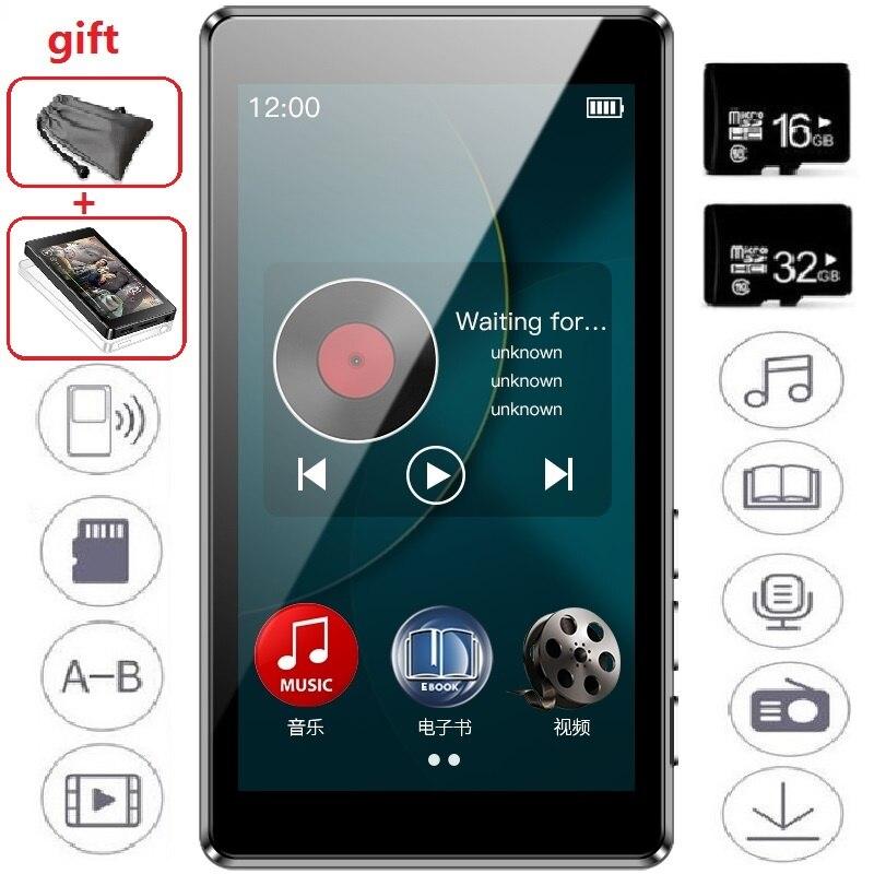 2019 Newest RUIZU D20 MP3 Player 3.0 Inch HD Full Touch Screen FM E-Book HiFi Audio Music Player Support TF Card(China)