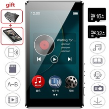 Nieuwste Ruizu D20 MP3 Speler 3.0 Inch Hd Full Touch Screen Fm E book Hifi Audio Music Player Ondersteuning Tf Card