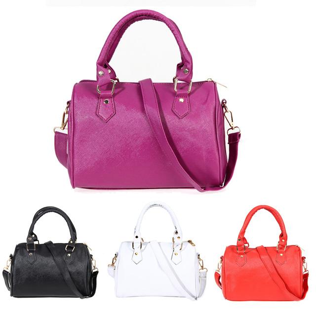 Hot Sale 2017 Designer Women Shoulder Bags Women Messenger Bags High Quality Tote Purse PU Leather Boston Handbags 1STL