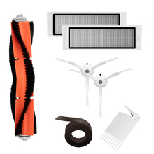 Vacuum Spare Parts Kit For XIAOMI Robot Cleaner HEPA Filter Roller Brush Cleaning Mops Tool Side 2M Magnetic Strip