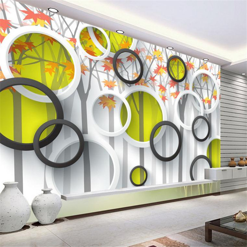 3d effect modern custom photo wallpaper large romantic minimalist wall mural living room bedroom background circle wallpaper book knowledge power channel creative 3d large mural wallpaper 3d bedroom living room tv backdrop painting wallpaper