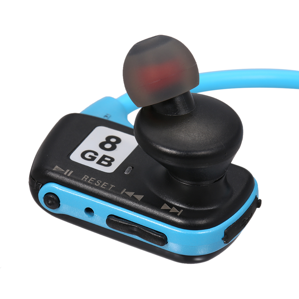 W273 8GB Sports MP3 Player Headphone&MP3 2in1 Music Noise Cancellation Headset MP3 WMA Digital Music Player Running Earphone
