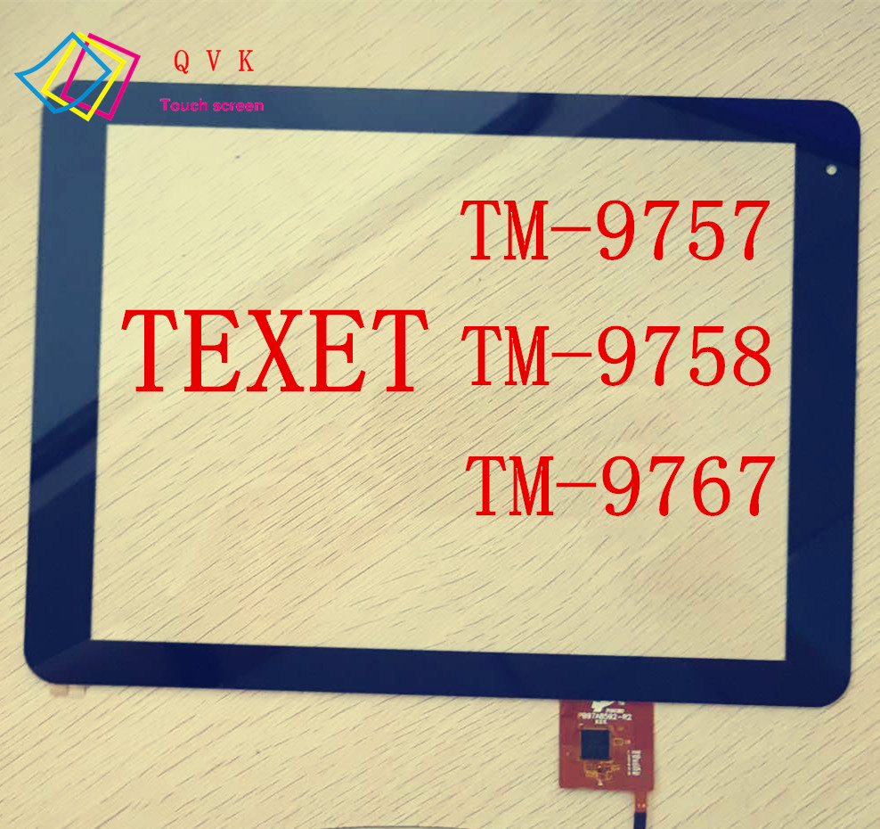 9.7inch for TeXet TM 9757 9758 9767 tablet pc capacitive touch screen glass digitizer panel cable code PB97A8592-R2 replacement lcd digitizer capacitive touch screen for lg vs980 f320 d801 d803 black