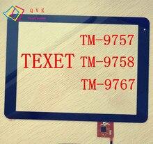 9.7 дюйма для TeXet TM 9757 9758 9767 Tablet PC емкостный сенсорный экран стекла Digitizer панель кабель код pb97a8592-r2