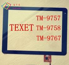9.7 pulgadas para TeXet TM 9757 9758 9767 tablet pc capacitiva de la pantalla táctil digitalizador de vidrio panel de cable código PB97A8592-R2