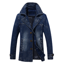 Hot 2017 Spring Dnd Autumn Business The New Leisure Jacket Denim Men Jacket Korean Slim Collar Thin Jacket Men Tide Dress 78
