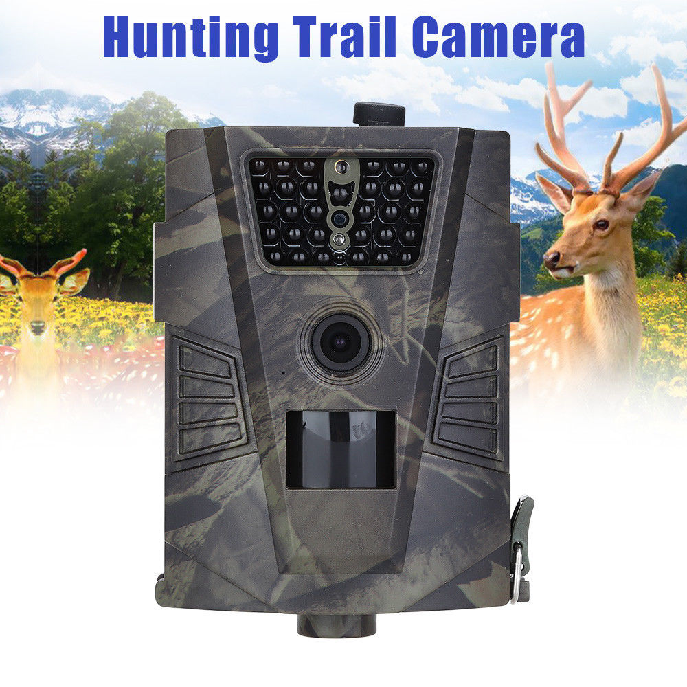 BOBLOV HT-001 12MP Infrared Detection Angle Night Vision Waterproof Hunting Trail Camera Outdoor Wildlife Digital Scouting Cam hunting camera 940nm 12mp photo traps infrared night vision motion detection outdoor wildlife trail cameras trap no lcd screen