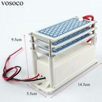 Ozone Generator 220V 15g/h home Air Purifier Ozonizador Ozonator Air Cleaner 3 layers Ozon machine Ozonizer Sterilization