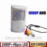Video 1080P Mini AHD Camera Night Vision 48pcs IR 940Nm Pinhole 2 0Megapixel PIR Camera CCTV