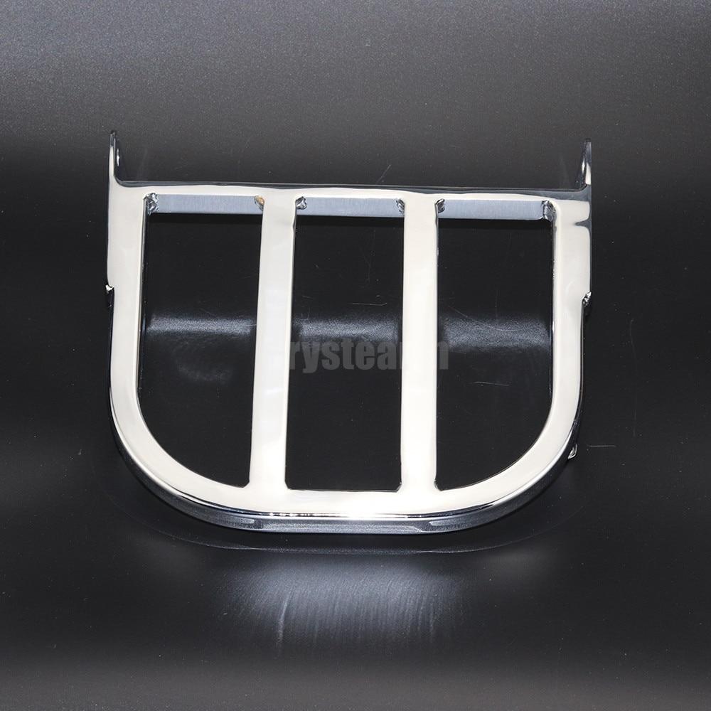 Хром Сисси бар багажник для Suzuki Бульвар M50 2005 2006 2007 2008 2009 незваного гостя/Волусиа VL800 2001-2011 2008 2009 2010