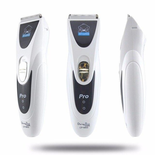CP6800/MY-90 мощный электрический триммер для волос для собак Серебряный перезаряжаемый острый кусачки для шерсти домашних животных Машинка для ухода за собакой машинка для стрижки волос