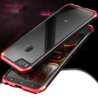 Ultra Slim Aluminum Case 9H Tempered Glass Men Metal Phone Cases Cover For Xiaomi Mi Mix5X