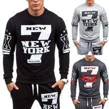 2018 New Men' Fashion Crewneck Sweatshirt