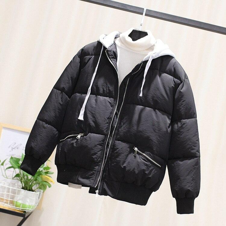 Loisirs Version La Deux Vêtements De Nouvelle rose Noir Coton Chapeau Doux Étudiants D'hiver Lettre Faux Chaud Coréenne 90057 Broderie EXqqYAw