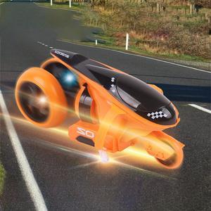 Image 3 - RC オートバイリア輪駆動 360 度ドリフトオートバイスタントリモートコントロールおもちゃ