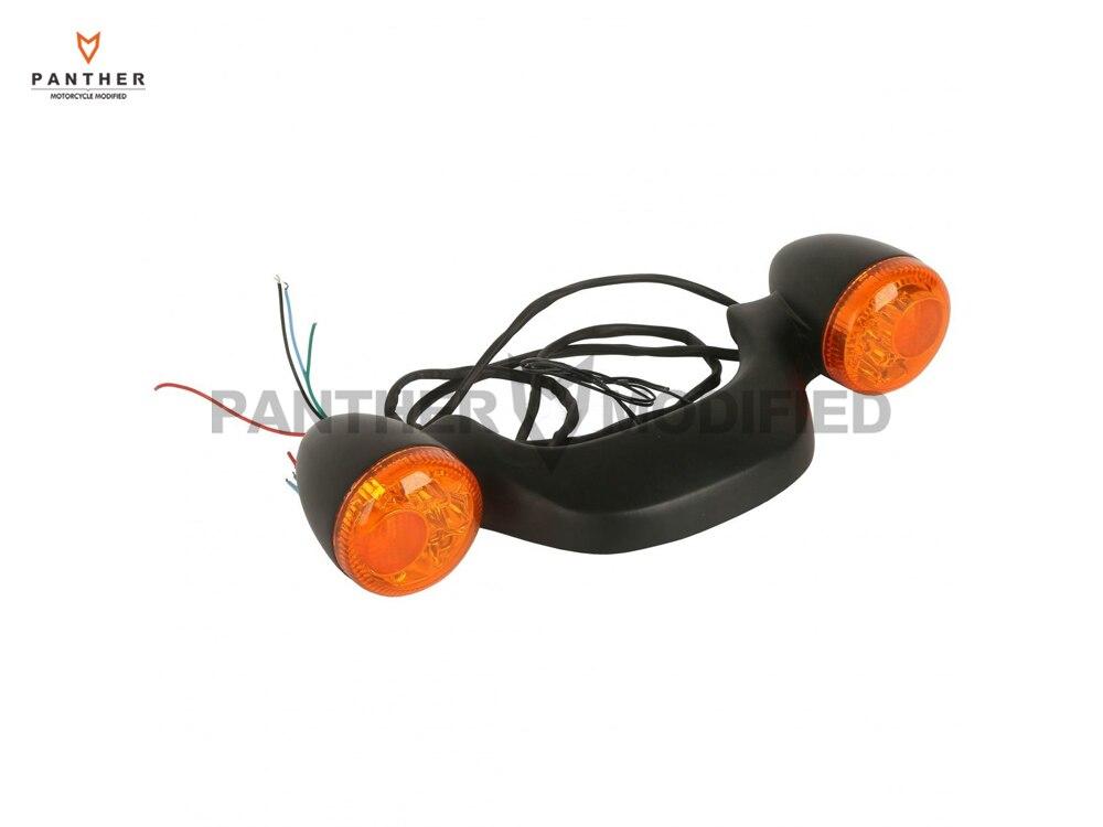 1 Pcs Black LED Motorcycle Rear Brake Light Turn Signal Bar Moto Taillight case for Harley FLHX Street Road Glide 2010-2016