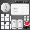 G18 kerui app control zonas inalámbricas gsm sistema de alarma con pantalla a color tft de pantalla táctil sistema de alarma pir motion Senson