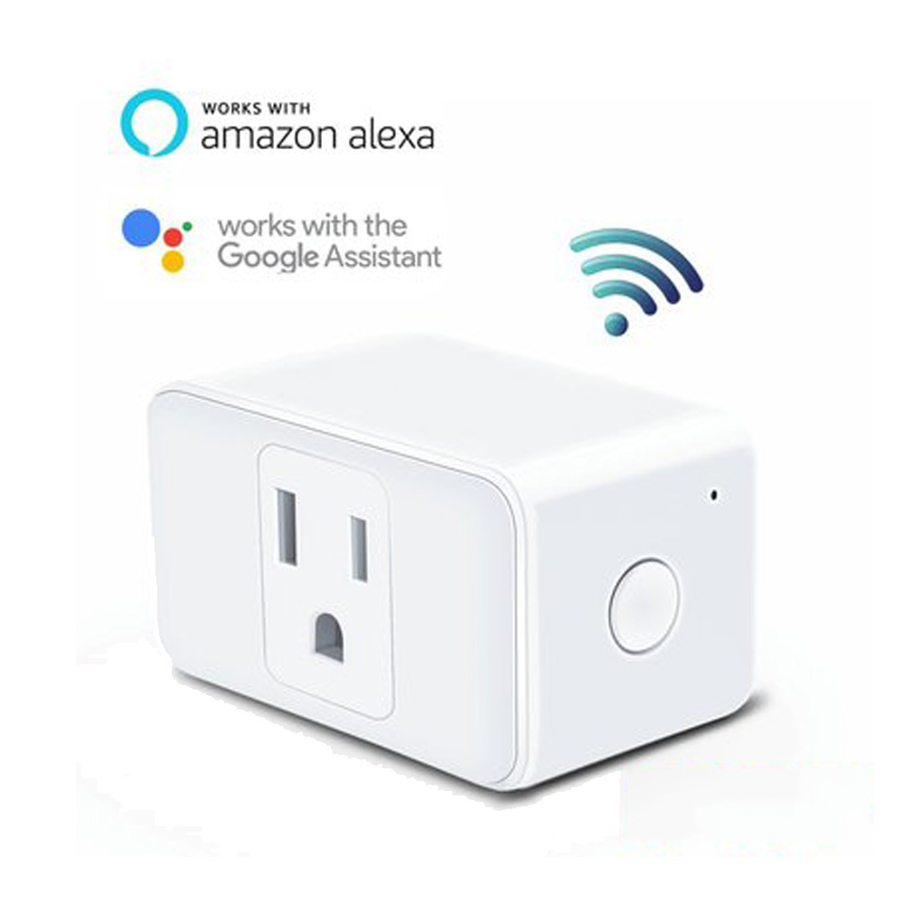 WIFI Switch Smart Outlet Plug Socket Power Timer US 100 -250V Work Google Home Alexa Echo Smart House Home Automation