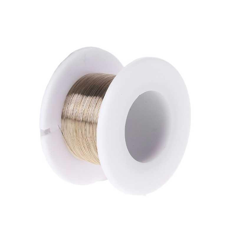 2019 جديد 100 m سبائك الذهب سلك الموليبدينوم قطع خط شاشة الكريستال السائل شاشة فاصل إصلاح
