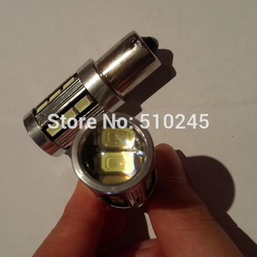 30X auto led car 1156 bulb led light 18 smd 5630 18 leds P21W 12v white Brake Tail Turn Signal Light Bulb Lamp free shipping