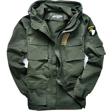 Military Style  jackets for men pilot cotton coat usa army 101 air force bomber jacket green black camouflage mens jacket