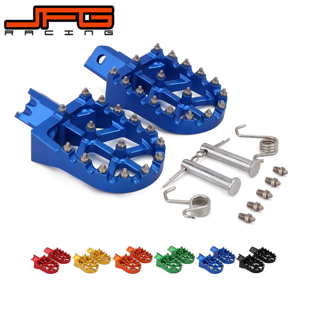 Image 5 - Motorcycle Universal CNC Colorful Footpeg Footrest Foot Pegs For HONDA CRF XR 50 70 110 M2R SDG DHZ SSR KAYO Pit Bike-in Foot Rests from Automobiles & Motorcycles