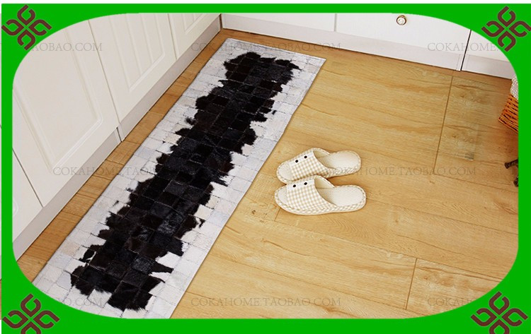 free shipping 100% natural genuine cowhide carpet stair treads ...