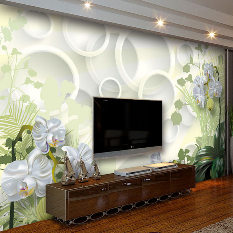 цены modern 3d effect custom photo wallpaper large stereo living room bedroom sofa TV background wall mural wallpaper home decor