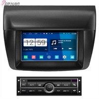 Topnavi 7'' Quad Core S160 Android 4.4 Car DVD Multimedia Player for Mistubishi L200 Low Audio Radio Stereo 2DIN GPS Navigation