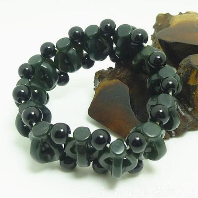 Bracelet En Jade Veritable