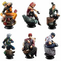 6PCS/SET Anime Cartoon Naruto Figure Set Gaara/Kakashi/Sakura/Uzumaki/Hatake Toys PVC Juguetes Action Figure Brinquedos