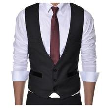 Men Vest Casual Suit Vest Waistcoat Tank Tops Sleeveless Jacket Coat for Men Singlet three Colors Vest Men's Clothing