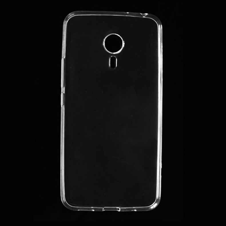 2016 هاتف محمول رقيقة جدا قذيفة سليم كريستال حافظة لينة من البولي يوريثان الغطاء الخلفي الجلد قذيفة حامي ل Meizu MX5 برو حقيبة هاتف محمول