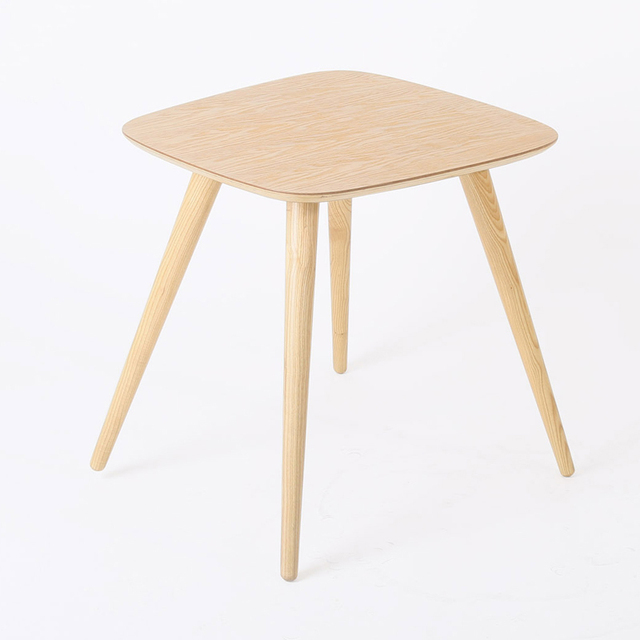 Ash Wood Dining Table W55*D54*H50 CM