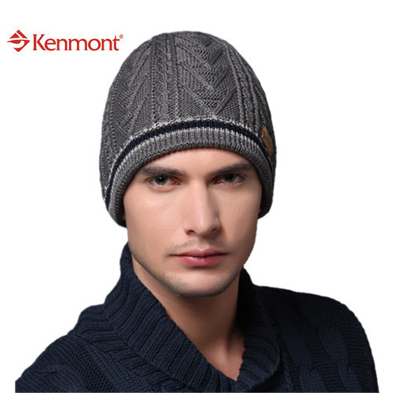 6d6fb4c67b64a5 Kenmont New Fashion Brand Winter Ski Handsome Sports Wool Knit Beanie Men  Hat For Holiday Gift 1177 on Aliexpress.com   Alibaba Group