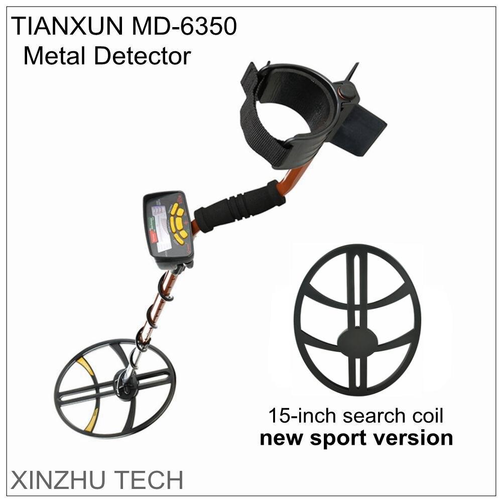 Le nouveau détecteur de métaux de sport de MD-6350 détecteur d'or souterrain professionnel MD6350 chasseur de trésor