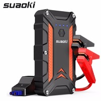 SUAOKI 1000A Peak Portable Car Jump Starter QC 3.0 Type C up to 7.0L Gas or 5.0L Diesel Engine Auto Battery Booster Power Bank