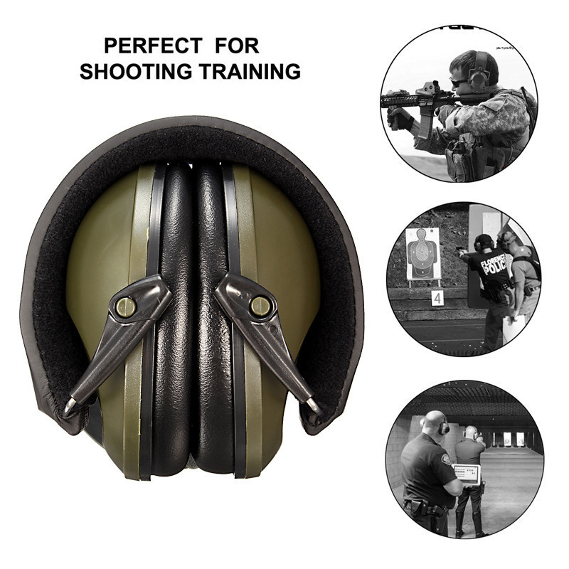 NEW Anti-noise Impact Sport Hunting  Tactical Earmuff Shooting Ear Protectors Hearing Protection Earmuffs abhaya kumar naik socio economic impact of industrialisation