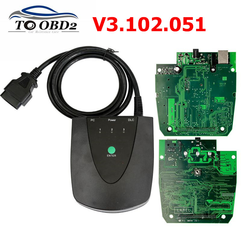 Latest Software V3.102.051 For Honda HDS HIM Diagnostic Tool With Double Board Get Z-tek Convert Connector