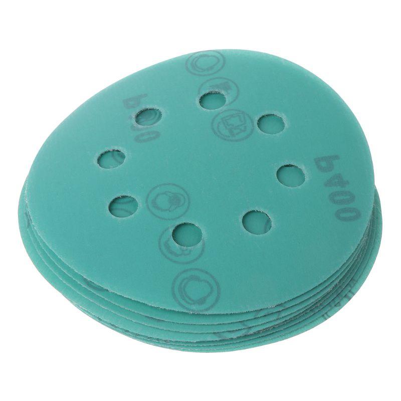 10Pcs Profissional Anti Entupir 125 milímetros Lixa 5