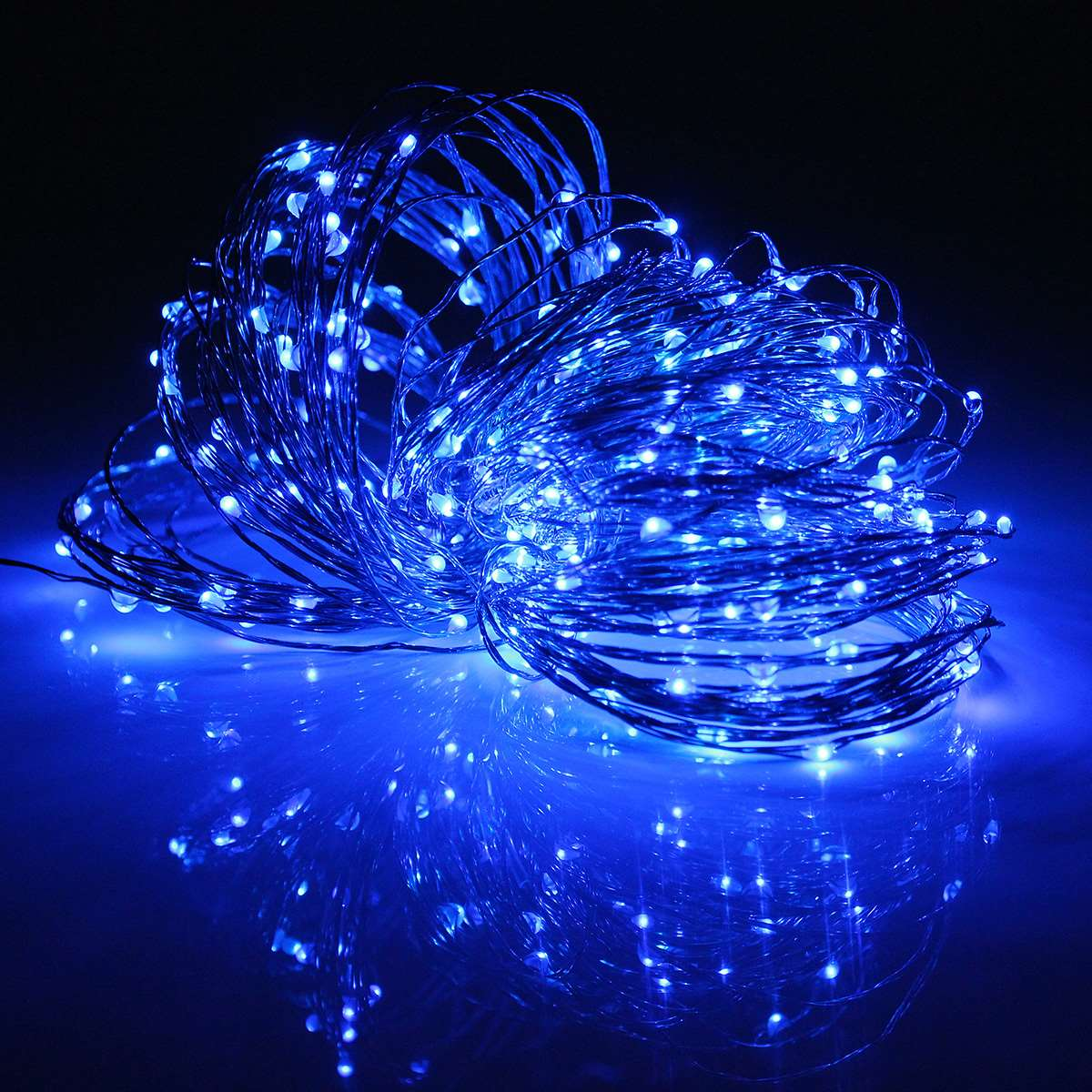 Waterproof 32M 3.6W Multicolor LED String <font><b>Light</b></font> Solar Power Copper Wire LED Fairy <font><b>Light</b></font> Christmas Wedding Party LED Holiday