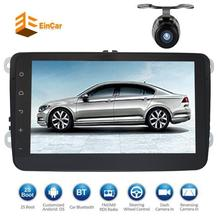 Android 7.1 2 Din Car Stereo Video Receiver Radio GPS Navigation for VW Golf Polo Passat Tiguan Jetta EOS+free Camera and canbus