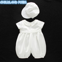 Baby Girl Baptism Gown Boys Christening Clothes 1st Birthday Party Wedding Baby Boy Clothes Dress Gentleman