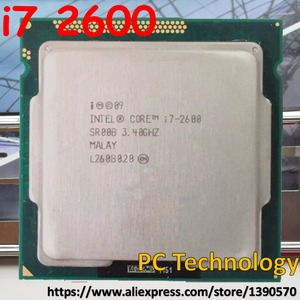 Original Intel Core i7-2600 i7 2600 3.4GHz CPU 8M LGA1155 95W desktop Quad-Core Free shipping ship out within 1 day