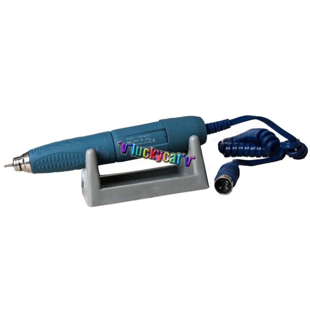 2.35mm New Dental Marathon SDE-SM45C Handpiece Micromotor Polishing 45000 RPM marathon n7 with sde h37l1 handpiece dental lab micromotor equipment