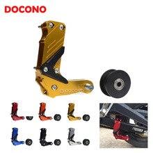 DOCONO Motorcycle CNC Aluminum chain auto tensioner For suzuki gn250 bandit 400