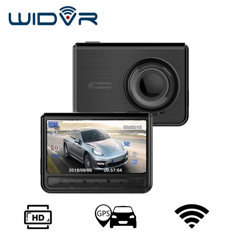 WIDVR Nouveau dash caméra GPS WIFI Novatek 96658 Sony IMX 323 Full HD 1080 p Voiture dvr 2.4 IPS Écran voiture dvr Dash cam