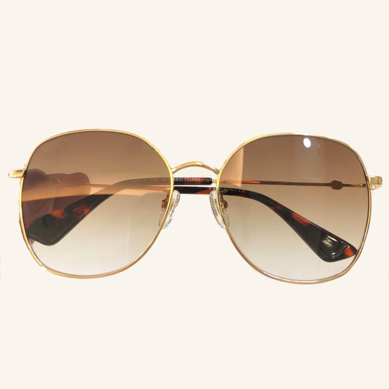 Qualität 2 Sonnenbrille Schutz no Uv400 3 Verpackung Mit Hohe no 2018 1 Klassische 4 Legierung Polarisierte no Frauen No Gläser Rahmen Runde Objektiv Für wqH8IP
