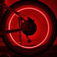 Tonewan 1 adet 4 renkler Tekerlek Lastik Vana Sızdırmazlık Cap Kafatası şekil LED Işık Lamba Titreşim On/Off Fit Bisiklet Araba ...