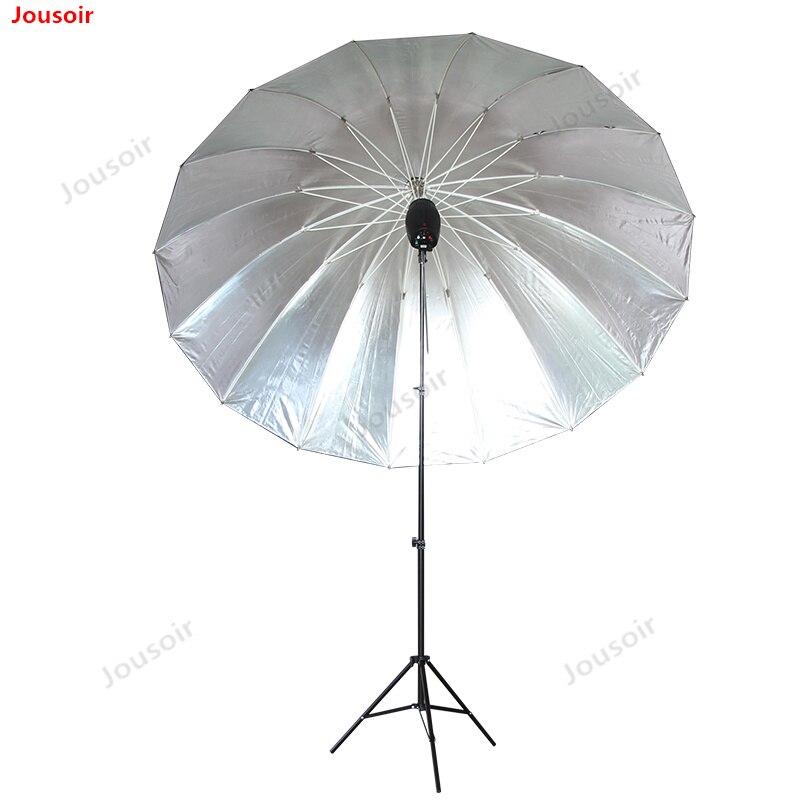 Photography 70inch Reflective Umbrella Outside Black Inner Silver Reflective Umbrella 180cm reflective umbrella CD50 T03P|Photo Studio Accessories| |  - title=